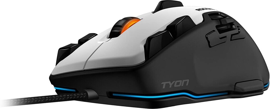 ROCCAT Tyon White - All Action Multi-Button Gaming Mouse